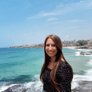 Marketing student, Macy Klein in Australia