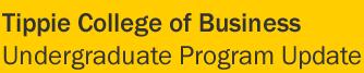 Undergraduate Program Update
