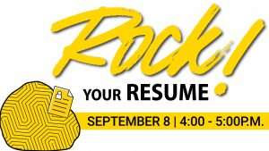 Rock Your Resume Graphic
