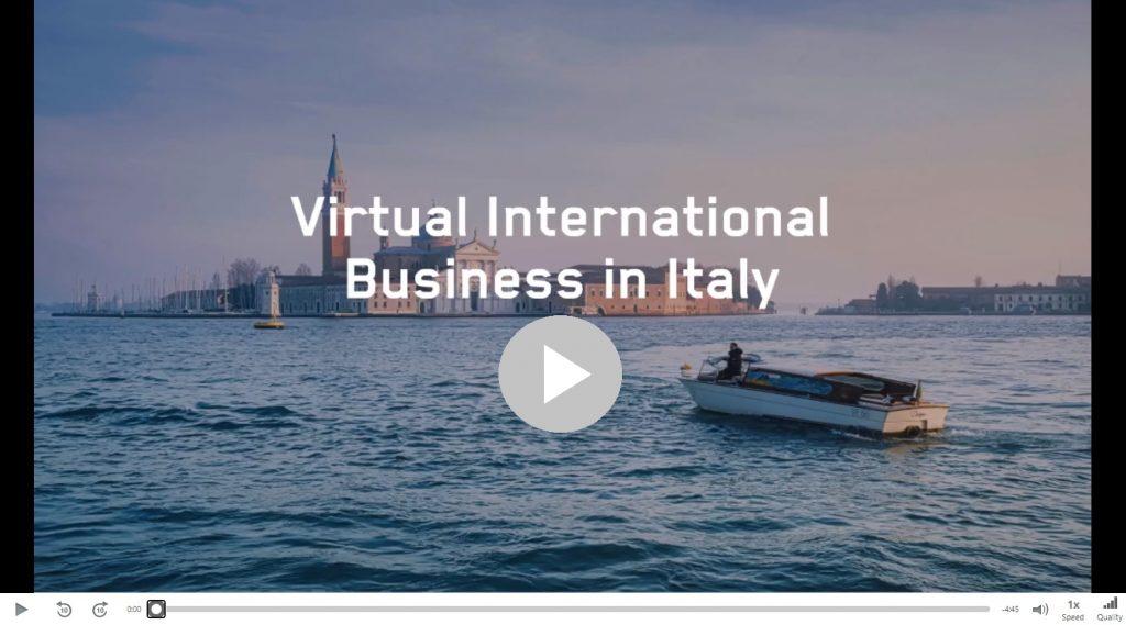 Virtual italy video