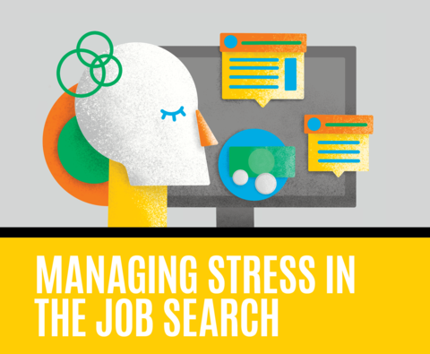 Graphic Managing stress in the job search